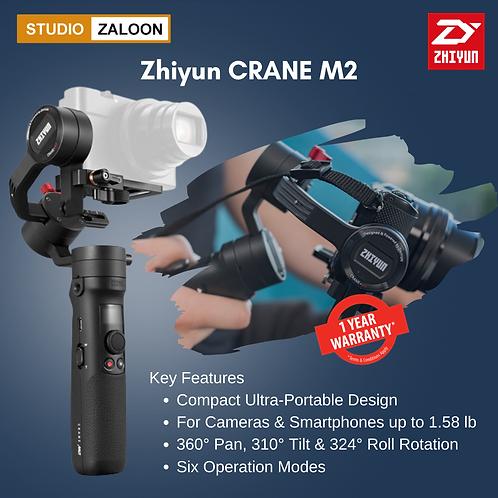 Zhiyun-Tech Crane M2 Professional 3 Axis Brushless Handheld