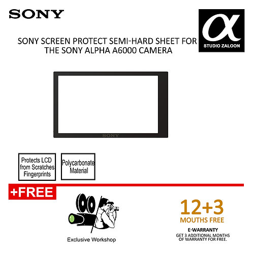 ( pre order )Sony PCK-LM17 Screen Protect Semi-Hard Sheet