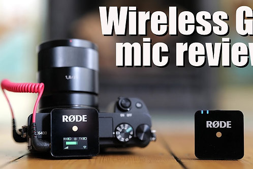 Rode Wireless GO Compact Digital Wireless Microphone System (2.4 GHz, Black)