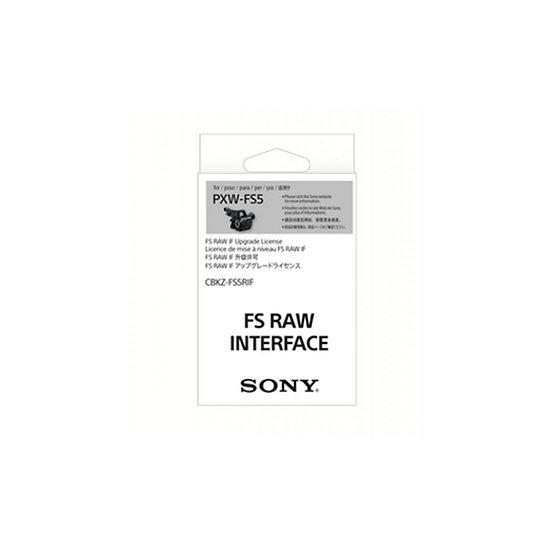 Sony CBKZ-FS5RIF PXW-FS5 RAW Upgrade