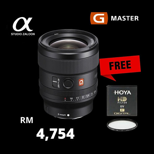 Sony FE 24mm f1.4 GM With HOYA HD Filter Protector