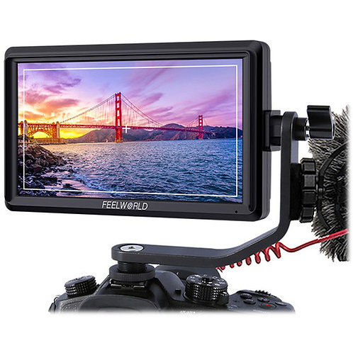 """[Pre-order] FeelWorld 5.5"""" Full HD HDMI Touchscreen Monitor with 4K Support"""