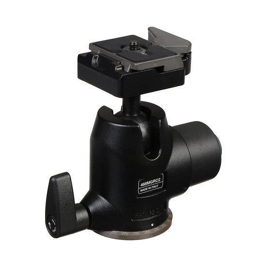 Manfrotto 468MGRC2 Hydrostatic Ball Head with RC2