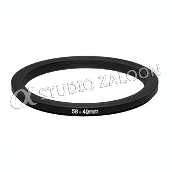 58-49mm Step-Down Ring