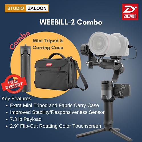 Zhiyun-Tech WEEBILL-2 SE Combo Kit with Mini Tripods & Fabric Case