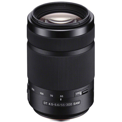 Sony DT 55-300mm f/4.5-5.6 SAM Lens