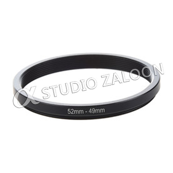 52-49mm Step-Down Ring
