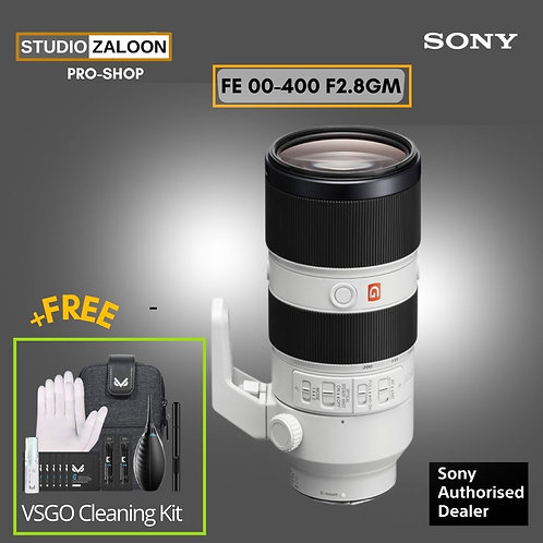 Sony FE 100-400mm f/4.5-5.6 GM OSS  Free Peak Design Slide Lite Camera Strap