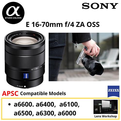Sony E 16-70mm f/4 ZA OSS Lens SEL1670Z