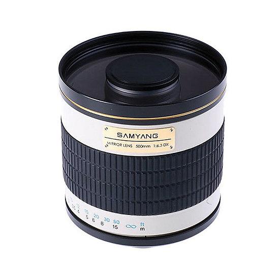 Samyang 500mm f/6.3 T-mount adaptor needed for Sony E