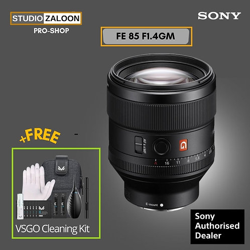 Sony FE 85mm F1.4 GM WITH VSGO CLEANING KIT