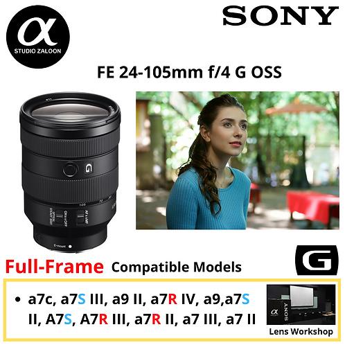 Sony FE 24-105mm f/4 G OSS Lens 24105 f4