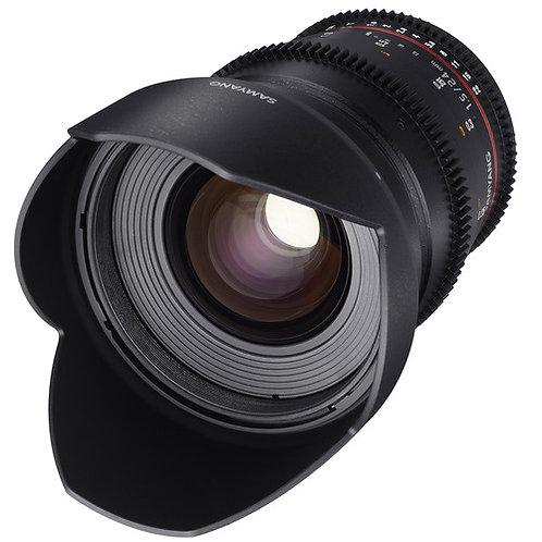 Samyang 24mm T1.5 VDSLRII Cine Lens for Canon EF MounT