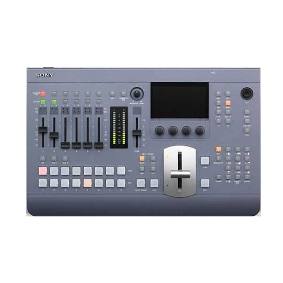 Compact SD / HD audio and video switcher