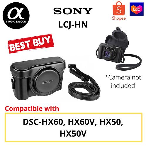 Sony LCJ-HN Jacket Case For Cyber-shot HX50V/HX60V (Black)