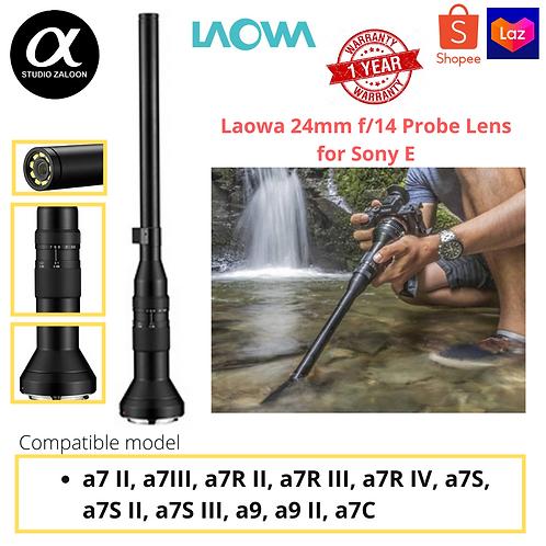 Laowa 24mm f/14 Probe Lens for Sony E