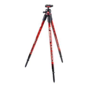 Manfrotto MKOFFROADR Off road Aluminum Tripod with Ball Head (RED)