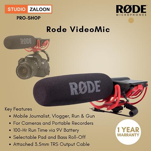 Rode VideoMic Camera-Mount Shotgun Microphone