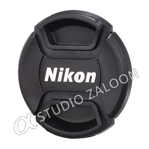 62mm Snap-On Lens Cap With Nikon Logo