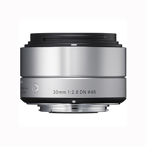 Sigma 30mm f/2.8 DN Lens for Sony E-mount Cameras (Silver)