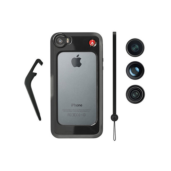 MANFROTTO MKOKLYP5S for iPhone 5/5s with Fisheye, Portrait 1.5x