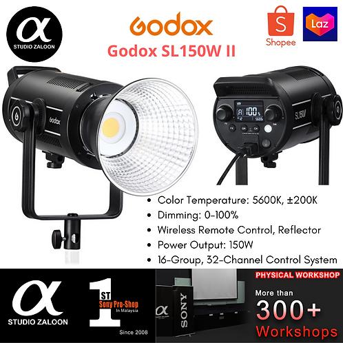 Godox SL150W II / SL-150Wii / SL150W 150 W Single Light Kit Bowens Mount Led Vid