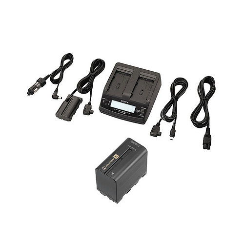 Sony ACC-L1BP AC Adapter / Twin Charger and NP-F970 Info-Lithium Battery Kit
