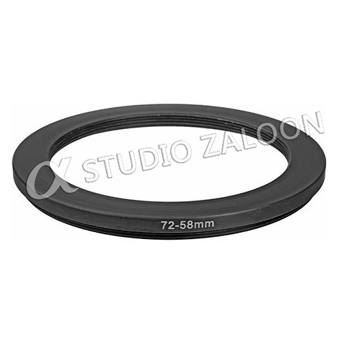 72-58mm Step-Down Ring