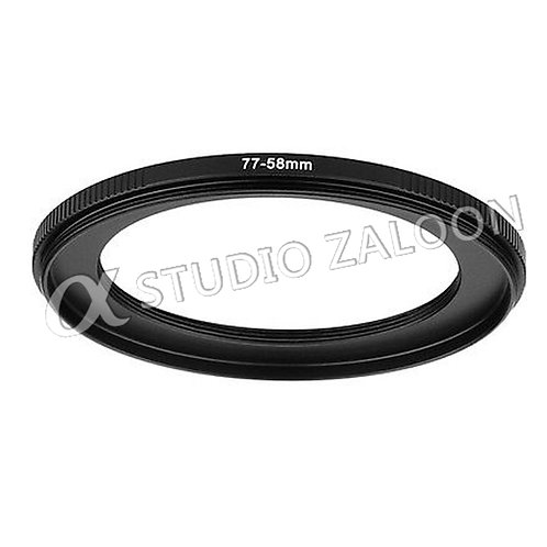 77-58mm Step-Down Ring