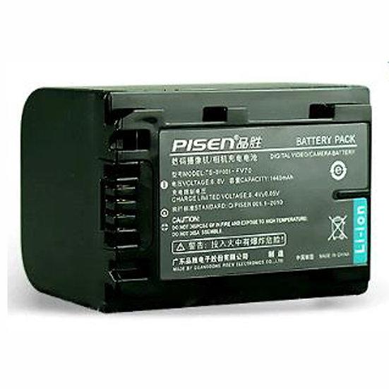 PISEN  Battery NP-FV70