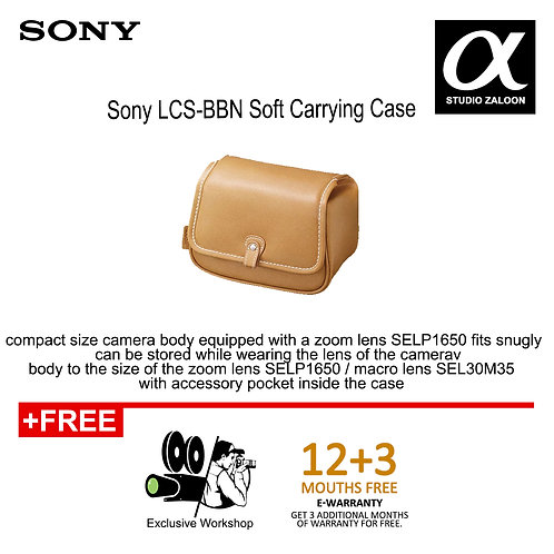 Sony LCS-BBN Soft Carrying Case