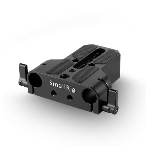 ( Pre-Order 3 weeks )SmallRig BasePlate With Dual 15mm  Rod Clamp 1674