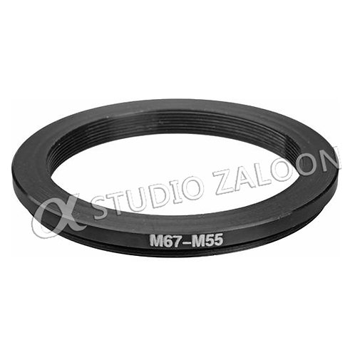 67-55mm Step-Down Ring