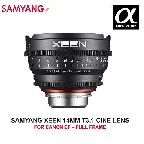 [PRE-ORDER 5 WEEKS] SAMYANG XEEN 14MM T3.1 CINE LENS FOR CANON EF
