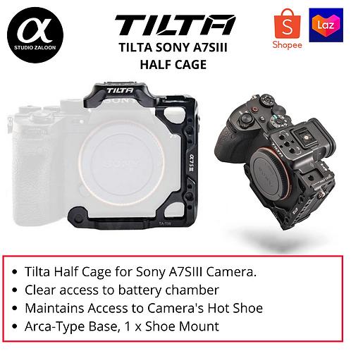 Tilta TA-T18-HCC-B A7SIII Half Cage Black