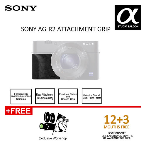 (Pre-Order)Sony AG-R2 Attachment Grip fit RX-Series