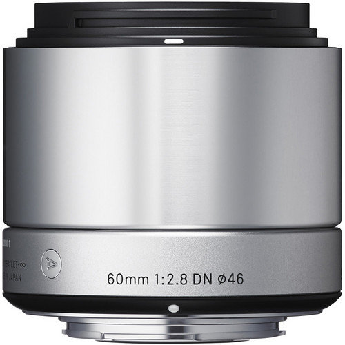 Sigma 60mm f/2.8 DN Lens for Sony E-mount Cameras (Silver)