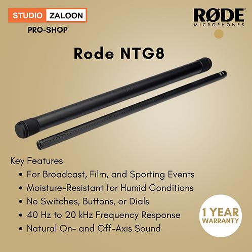 Rode NTG8 Moisture-Resistant Long Shotgun Microphone