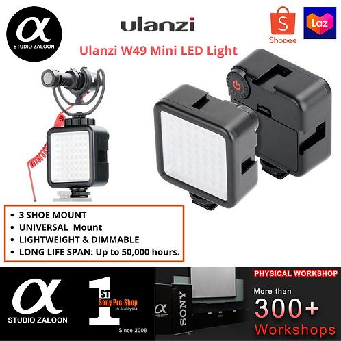 Ulanzi W49 Mini Interlock Camera LED Video Light