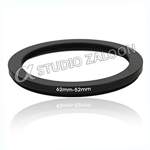 62-52mm Step-Down Ring