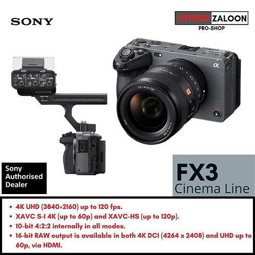Sony FX3 Full-Frame Cinema Camera ( PRE-ORDER ) ( EST Price RM 18,999 )