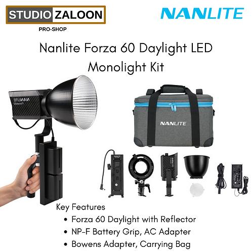 Nanlite Forza 60 Daylight LED Monolight Kit