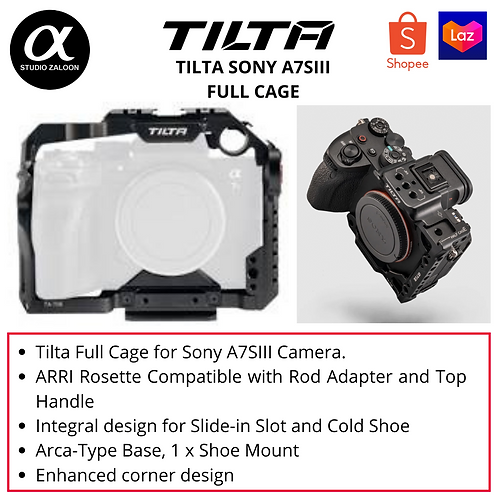 Tilta Full Camera Cage for Sony a7siii TA-T18-FCC-B