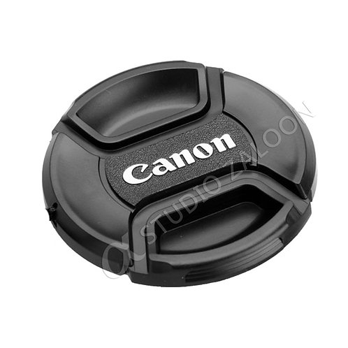 58mm Snap-On Lens Cap With Canon Logo