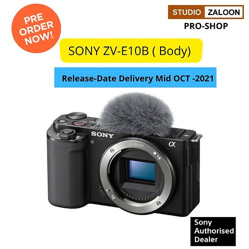 PRE ORDER NOW  Sony ZV-E10 Camera (Body Only, Black)