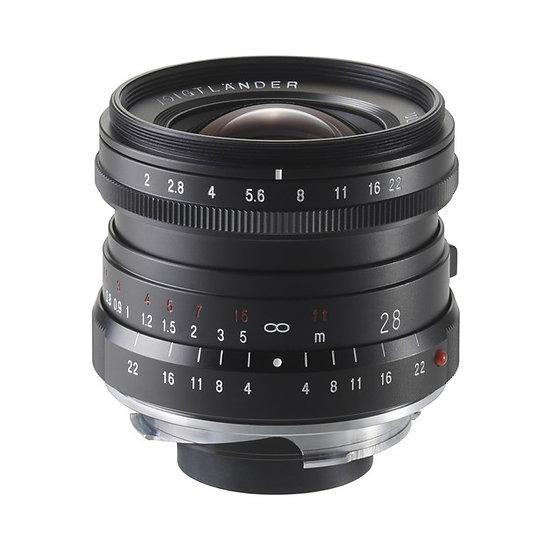 Voigtlander 28mm f/2 Ultron  VM Mount Lens