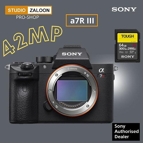 Sony Alpha a7R III  (Body Only)+CASHBACK