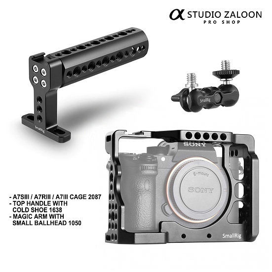 [Pre-order 4 Weeks] SmallRig for Sony A7III / A7RIII / A7SIII Camera Acc Kit
