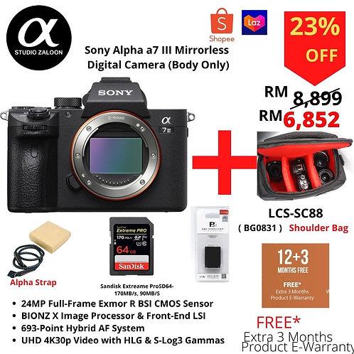 Sony A7M3 Mirrorless Digital Camera (Body Only)