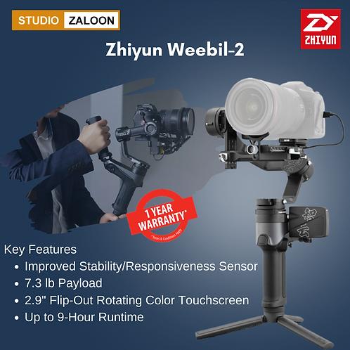 Zhiyun-Tech WEEBILL-2 3-Axis Gimbal Stabilizer with Rotating Touchscreen